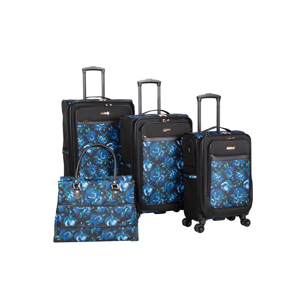 Isaac Mizrahi Irwin 2 4 Piece Spinner Luggage Set Im104