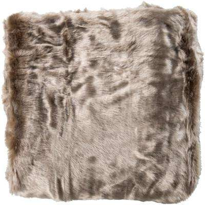 Pansberry Camel Acrylic Throw