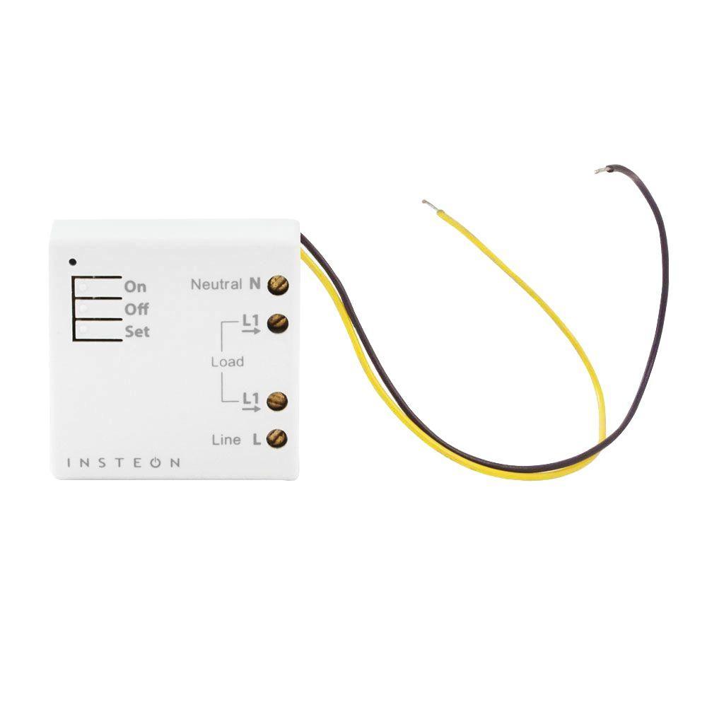 Insteon 2000-Watt Micro On/Off Module - White