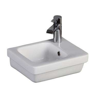 Resort 360 14-1/4 in. Wall Hung Basin in White