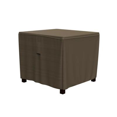Rust-Oleum NeverWet Hillside Small Black and Tan Square Patio Table Cover