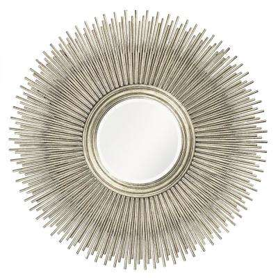 Singapore Silver Leaf Decorative Mirror