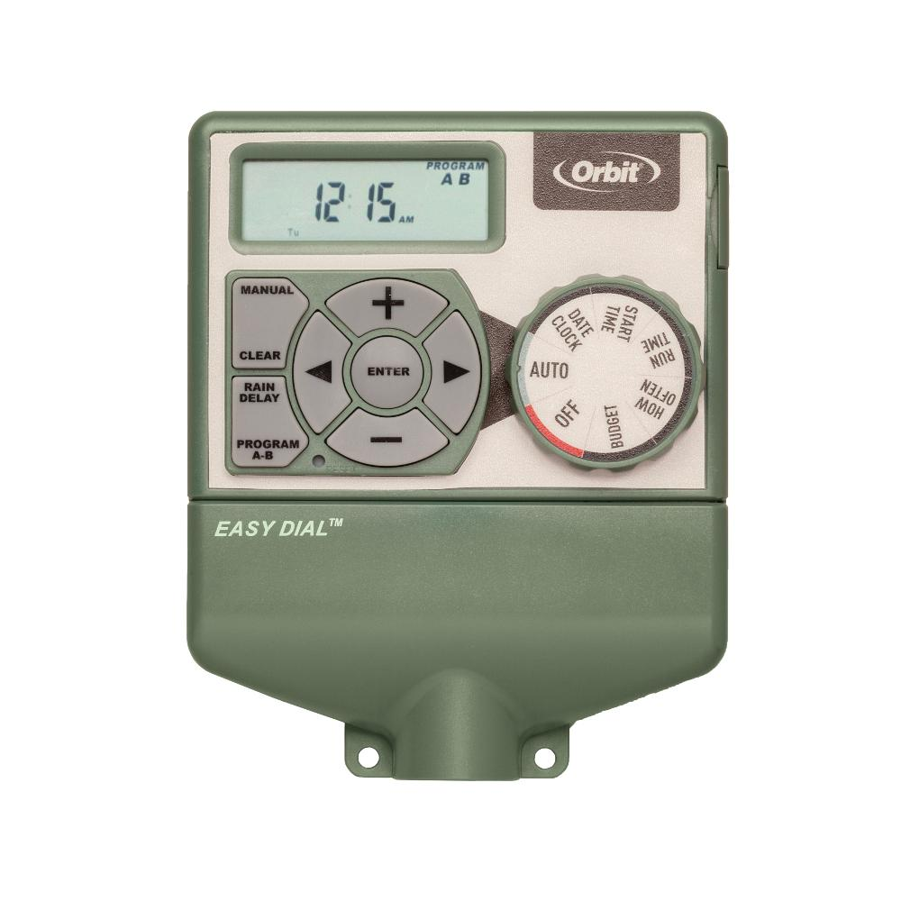 Orbit 4-Station Indoor Easy Dial Timer-57594 - The Home Depot