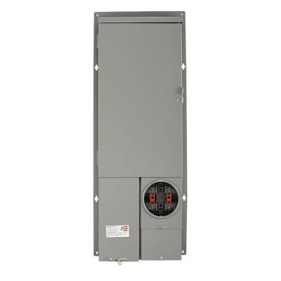 200 Amp 40-Space All-in-One UG/OH Semi-Flush (Solar Ready) Panel with Main Breaker