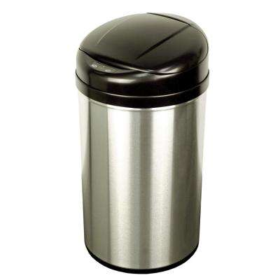 10.9 Gal. Stainless Steel Touchless Sensor Trash Can