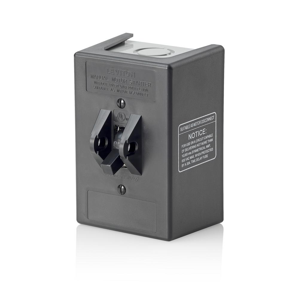 30 Amp 600-Volt Industrial Grade Toggle In Type 1 Thermoplastic Enclosure