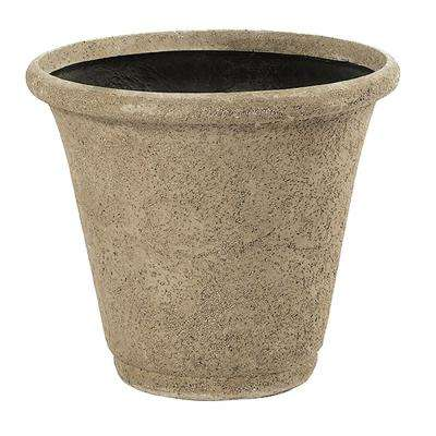 Andover 28 in. Natural LavaStone Planter