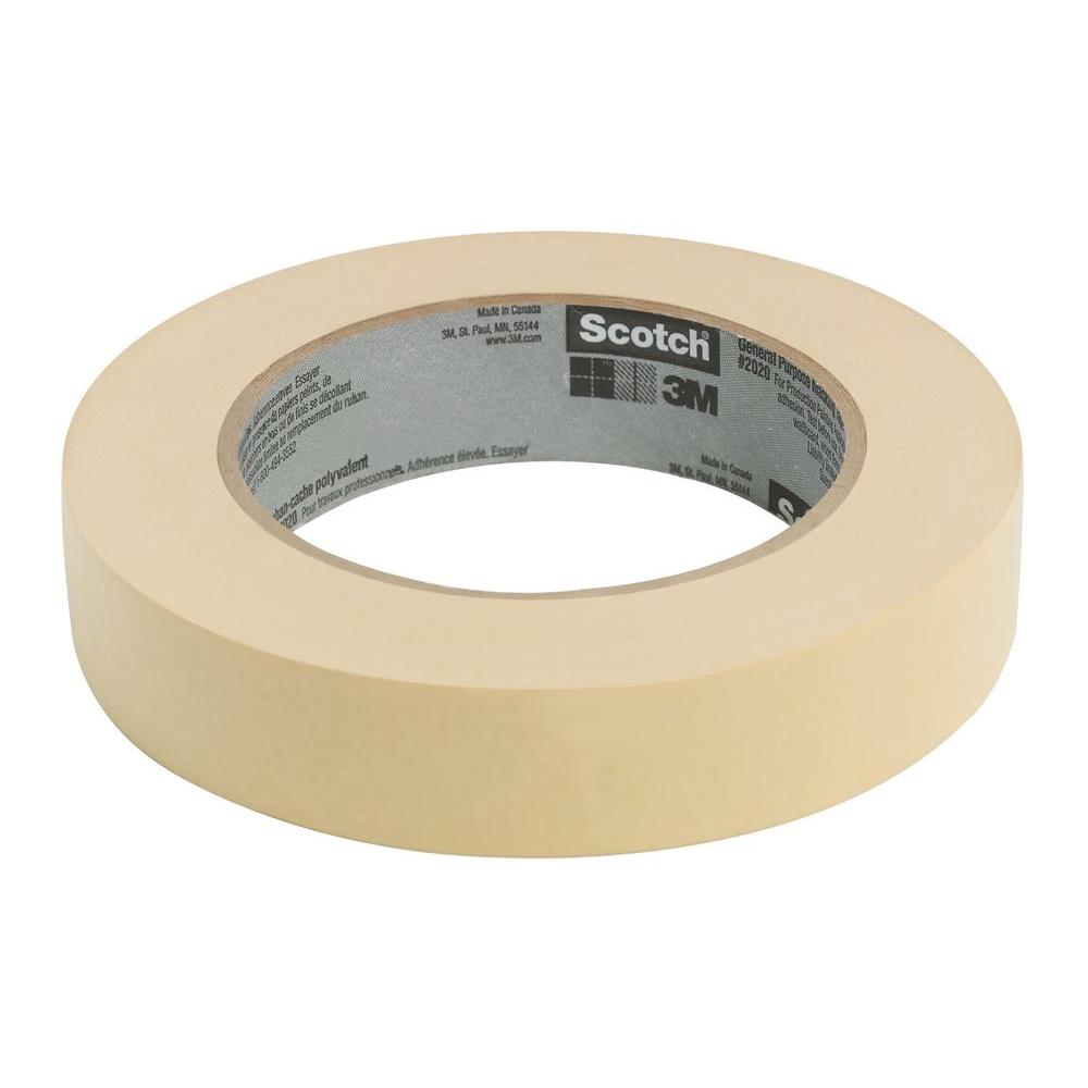 Scotch 0.94 in. x 60.1 yds. General Purpose Masking Tape (Case