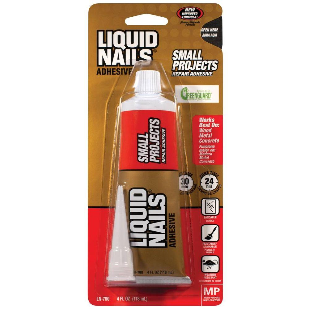 LiquidNails Liquid Nails Small Projects and Repairs 4 oz. White Latex Adhesive