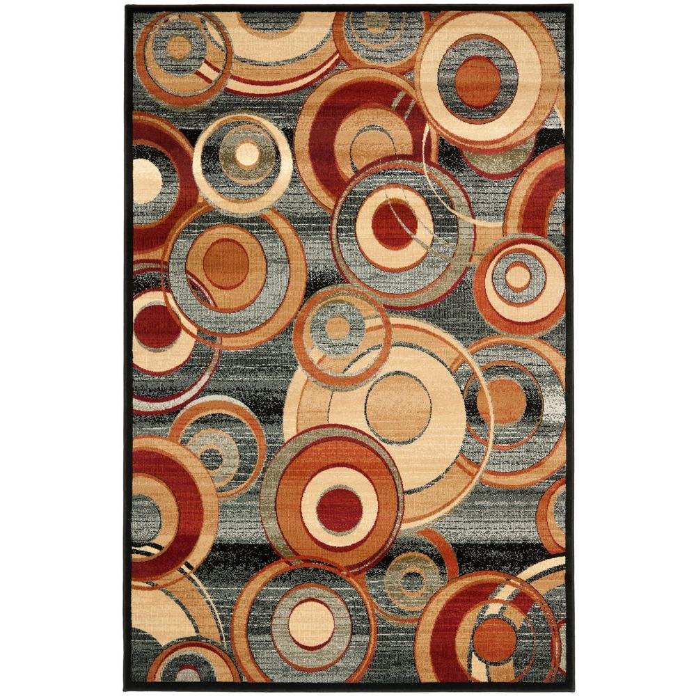Lyndhurst Gray/Multi 8 ft. 11 in. x 12 ft. Area Rug