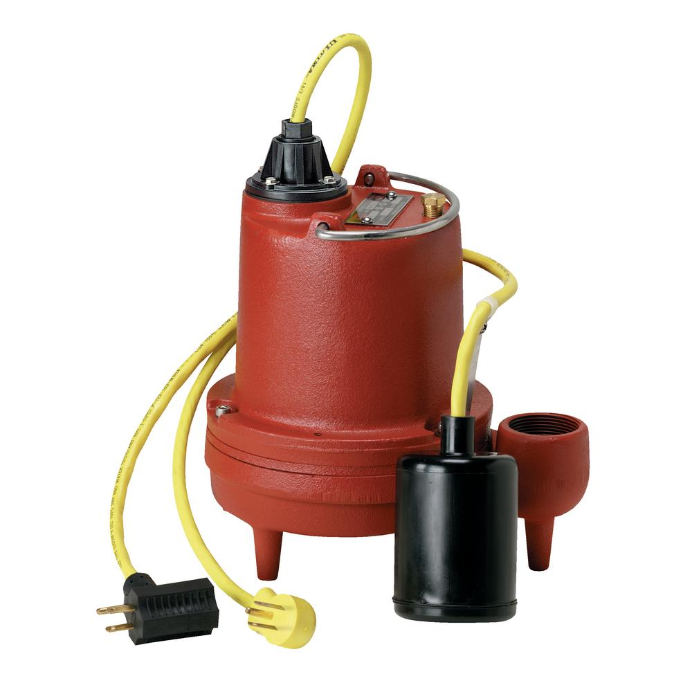 Liberty Pumps HT-40-Series 4/10 HP Submersible High