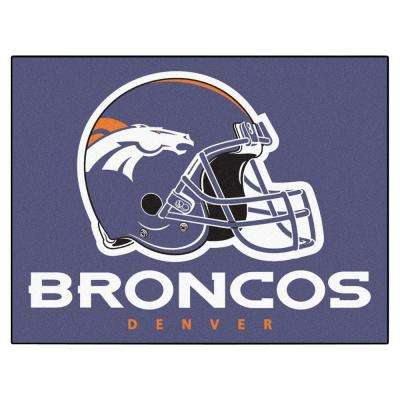 Denver Broncos 2 ft. x 3 ft. Area Rug