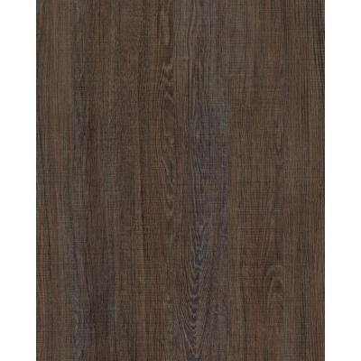 17.7 in. x 78.74 in. Eiche Santana Brown Wood Wall Adhesive Film (Set of 2)