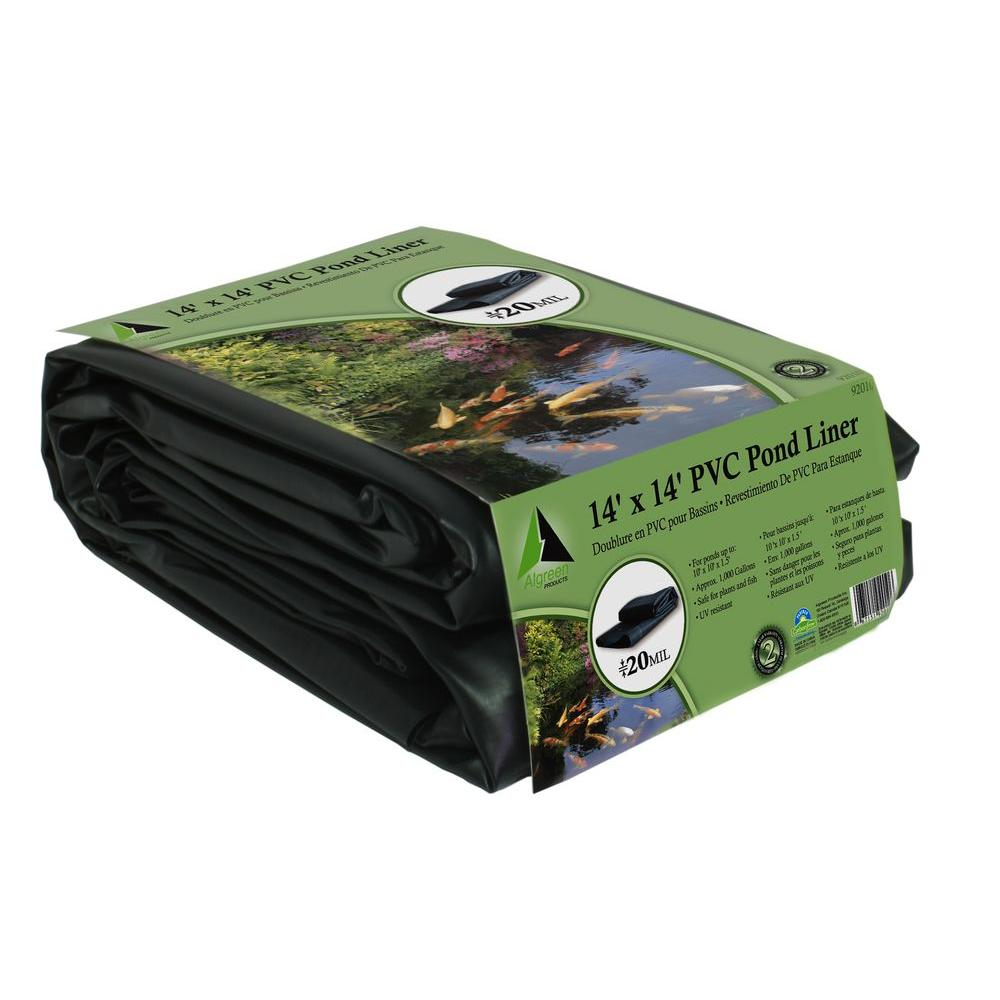 Algreen 8 Ft X 10 Pond Liner 92000 The Home Depot