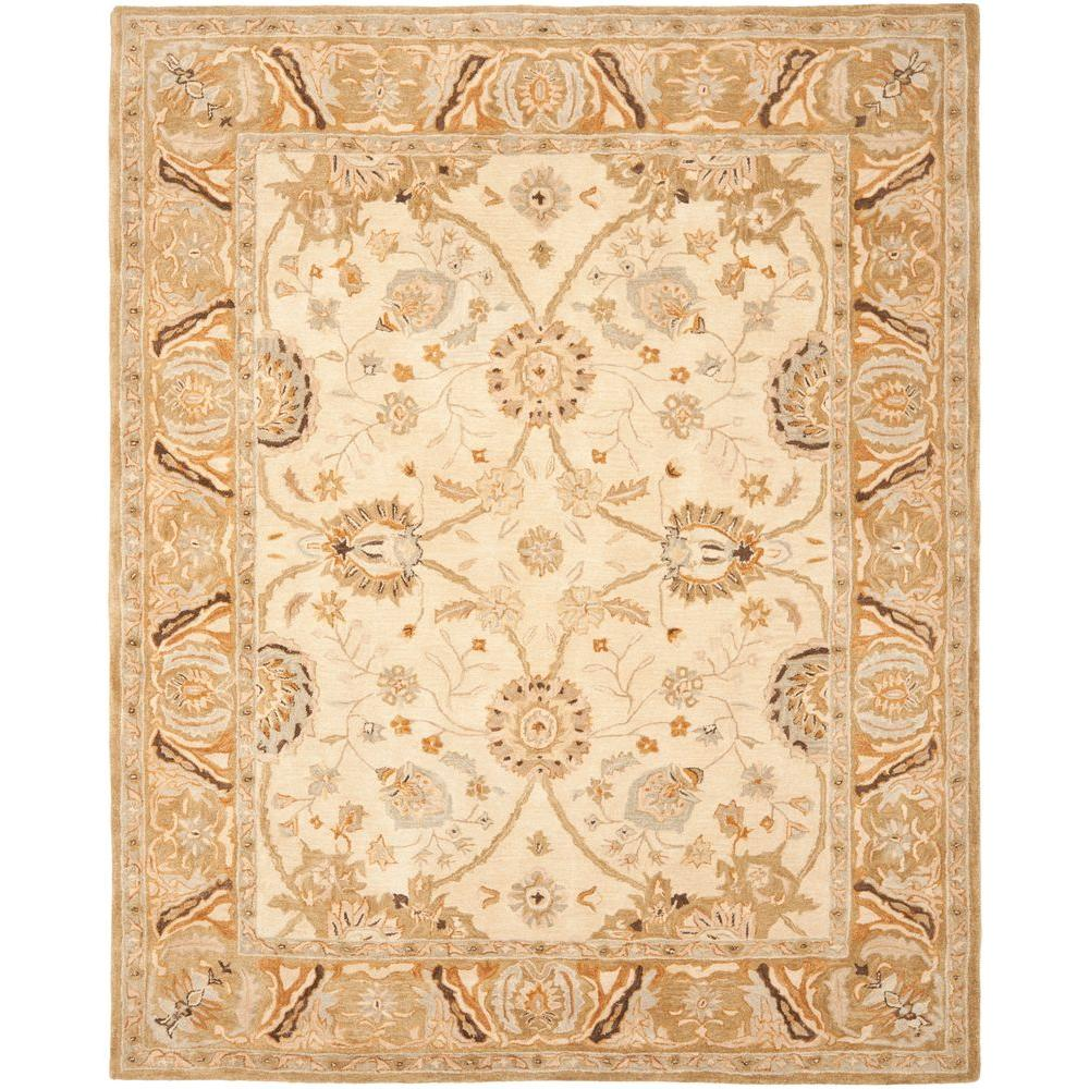 Safavieh Anatolia Silver/Light Brown 8 ft. x 10 ft. Area Rug