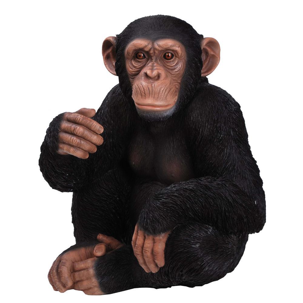 Monkey Sitting Statue