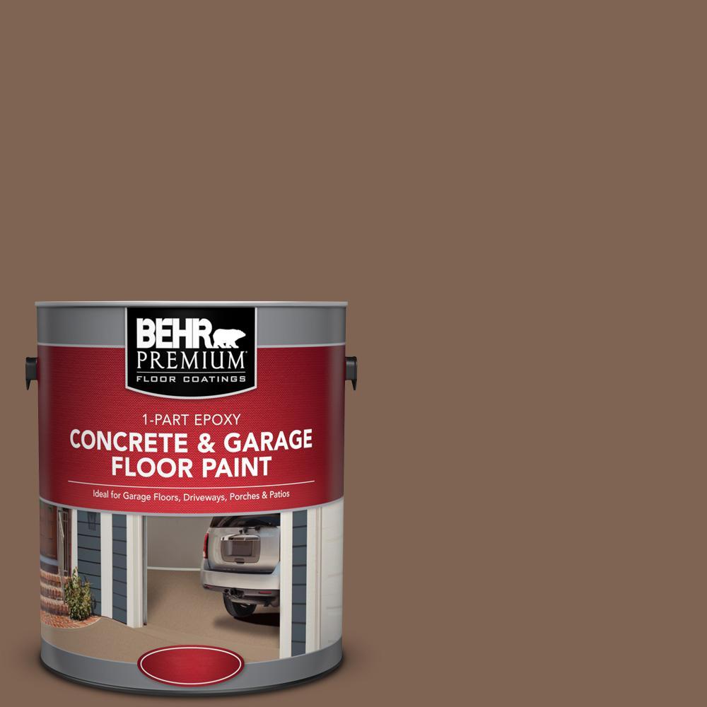 1 gal. #N240-7 Joshua Tree 1-Part Epoxy Satin Interior/Exterior Concrete and Garage Floor Paint