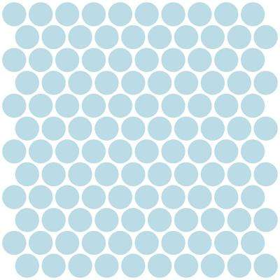 Penny 10 in. x 10 in. Blue Tile Peel and Stick Backsplash Tiles