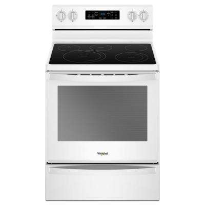 Electric Range In White With Frozen Bake Technology