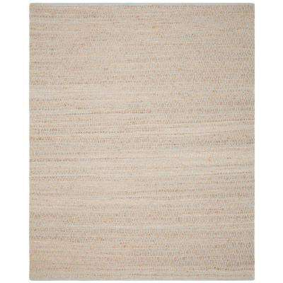 Cape Cod Silver/Natural 8 ft. x 10 ft. Area Rug