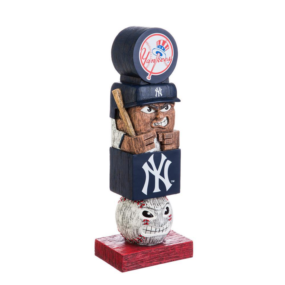 NY Yankees Tiki Totem Garden Statue