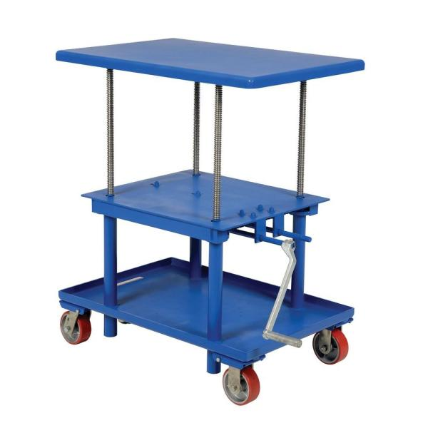 2,000 lb. Capacity Low Profile Mechanical Post Table