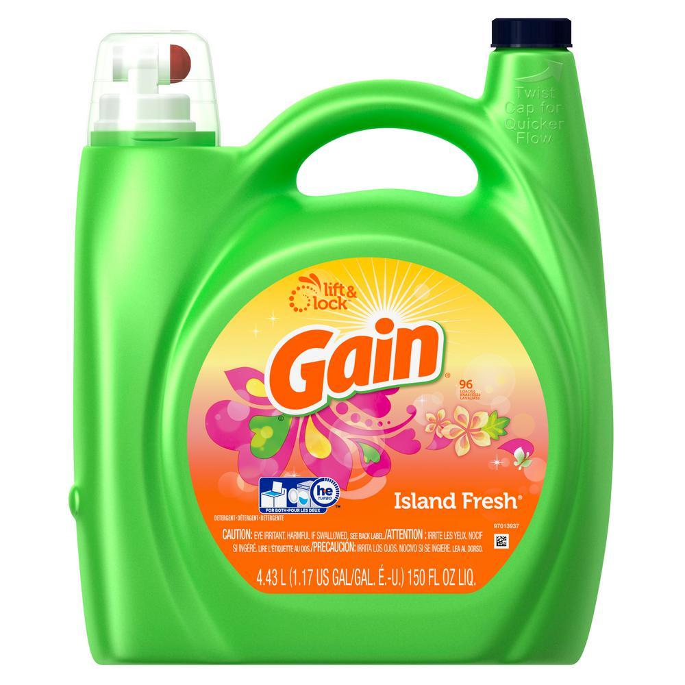 150 oz. Island Fresh Liquid Laundry Detergent (96 Loads)