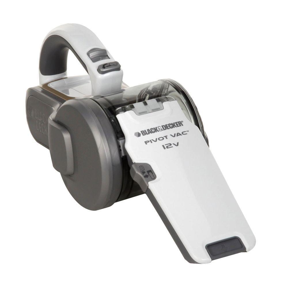 BLACK+DECKER 12-Volt Pivoting Handheld Vac-DISCONTINUED