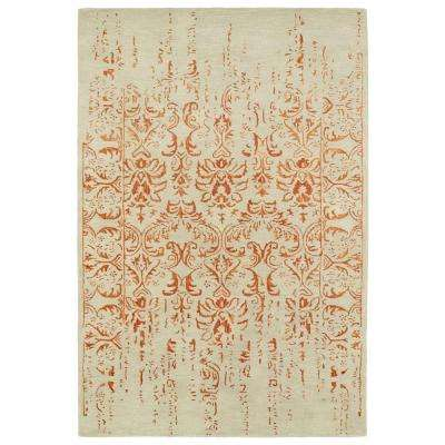 Mercery Paprika 2 ft. x 3 ft. Area Rug