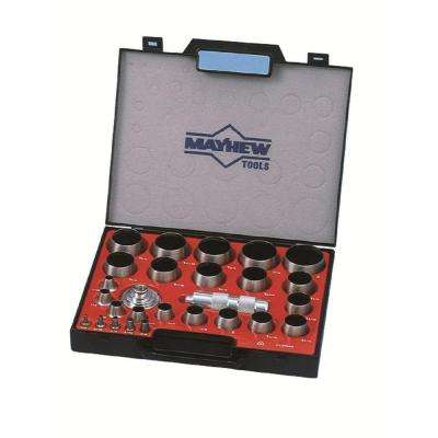 1/8 in. to 2 in. Imperial Hollow Punch Set (27-Piece)