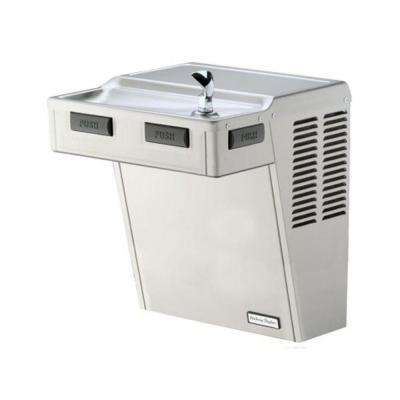 Non-Filtered 8 GPH Wall Mount ADA Drinking Fountain in Platinum Vinyl