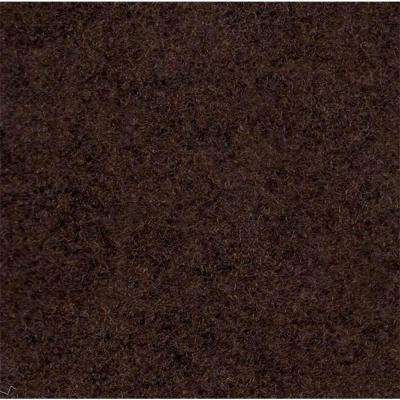 Dark Brown Delour 18 in. x 18 in. Carpet Tile (12 Tiles/Case)