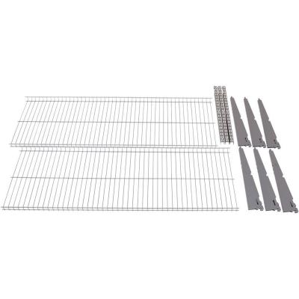 FastTrack Garage 2-Shelf 48 in. x 16 in. Wire Shelving Kit