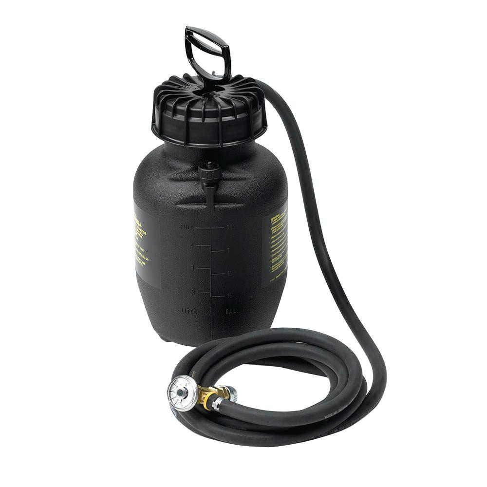 4-Qt. Brake Bleeder Tank with 10-1/2 in. Hose