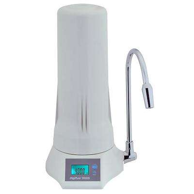 7-Stage Counter Top Filtration System with LCD Display in White