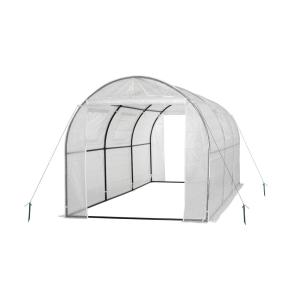 Ogrow 68 inch W x 83 inch D x 117 inch H 2 Door Walk-in Tunnel Greenhouse with Ventilation... by Ogrow
