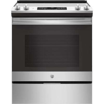 5.3 cu. ft. Slide-In Electric Range with Self-Cleaning Oven in Stainless Steel