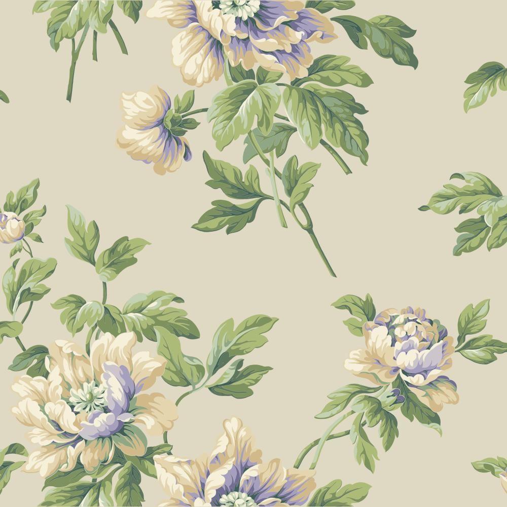 Casabella II Document Floral Wallpaper