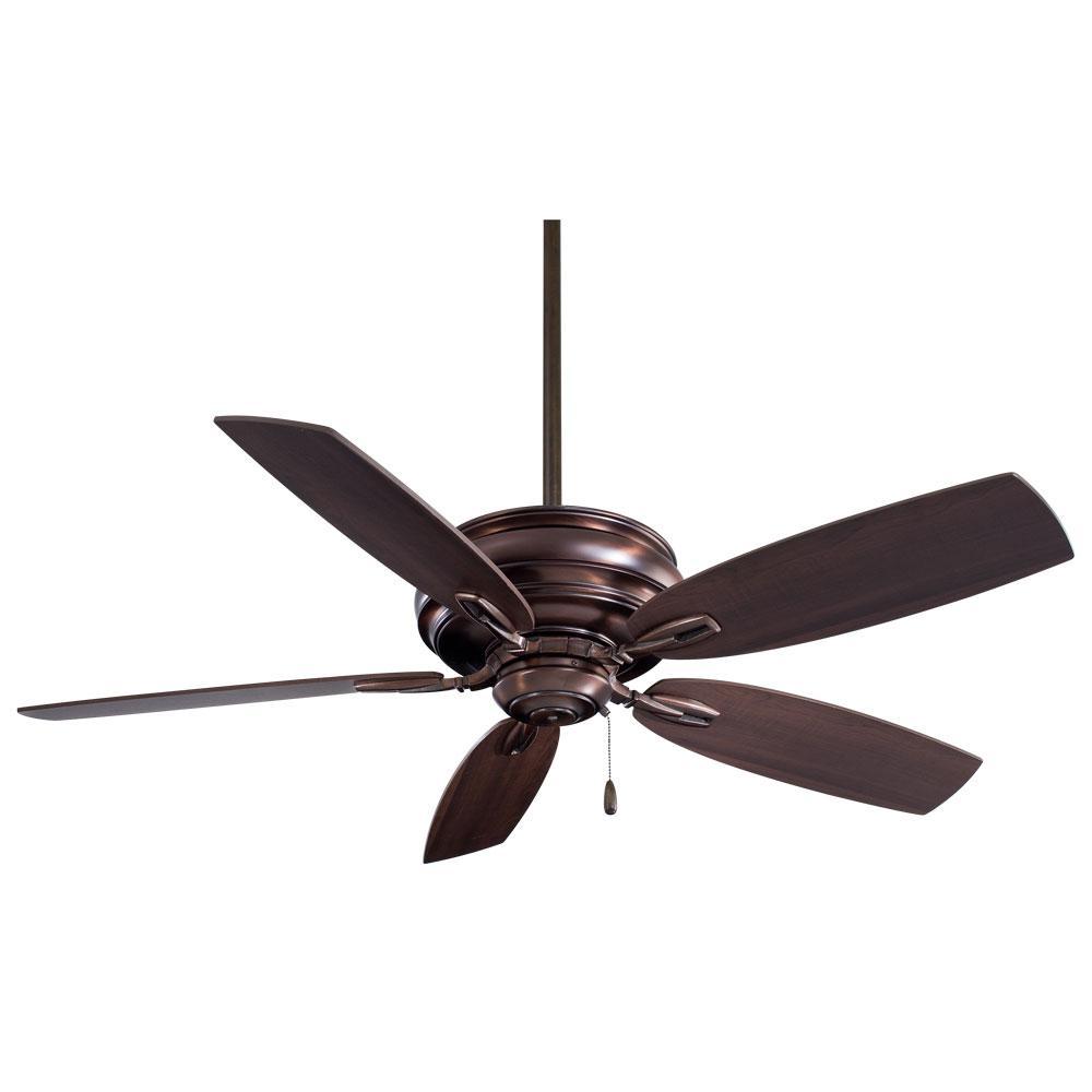 Timeless 54 in. Indoor Dark Brushed Bronze Ceiling Fan