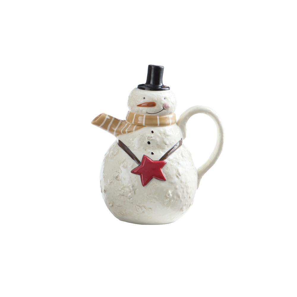 Snow Friends Teapot