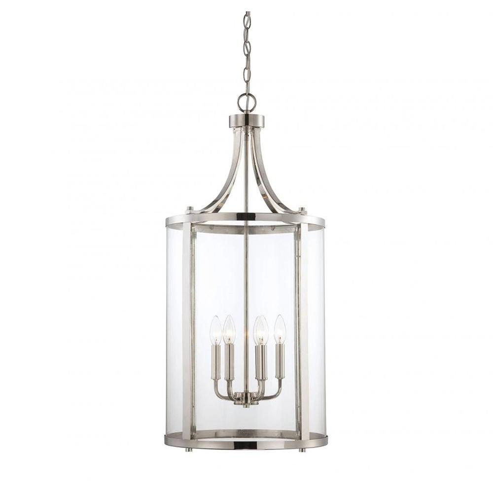 Illumine Kulfi 6-Light Polished Nickel Pendant