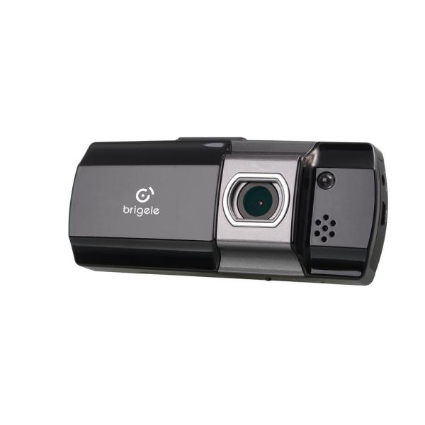 Brigele DR2100 Car Dash Cam Full HD 1080p 3MP with 16GB SD Card Storage and Impact Sensor for Traffic Accident Evidence