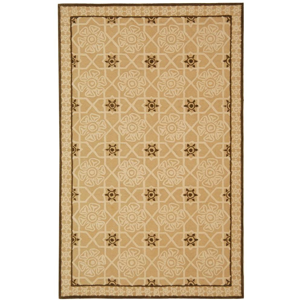 Newport Creme/Ivory 3 ft. 9 in. x 5 ft. 9 in.