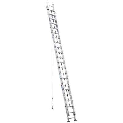 44 ft. Aluminum D-Rung Extension Ladder with 300 lb. Load Capacity Type IA Duty Rating
