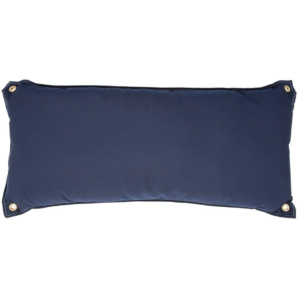 Canvas Navy Traditional Hammock Pillow