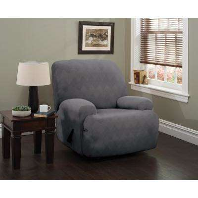 Optic Jumbo Recliner Stretch Slipcover