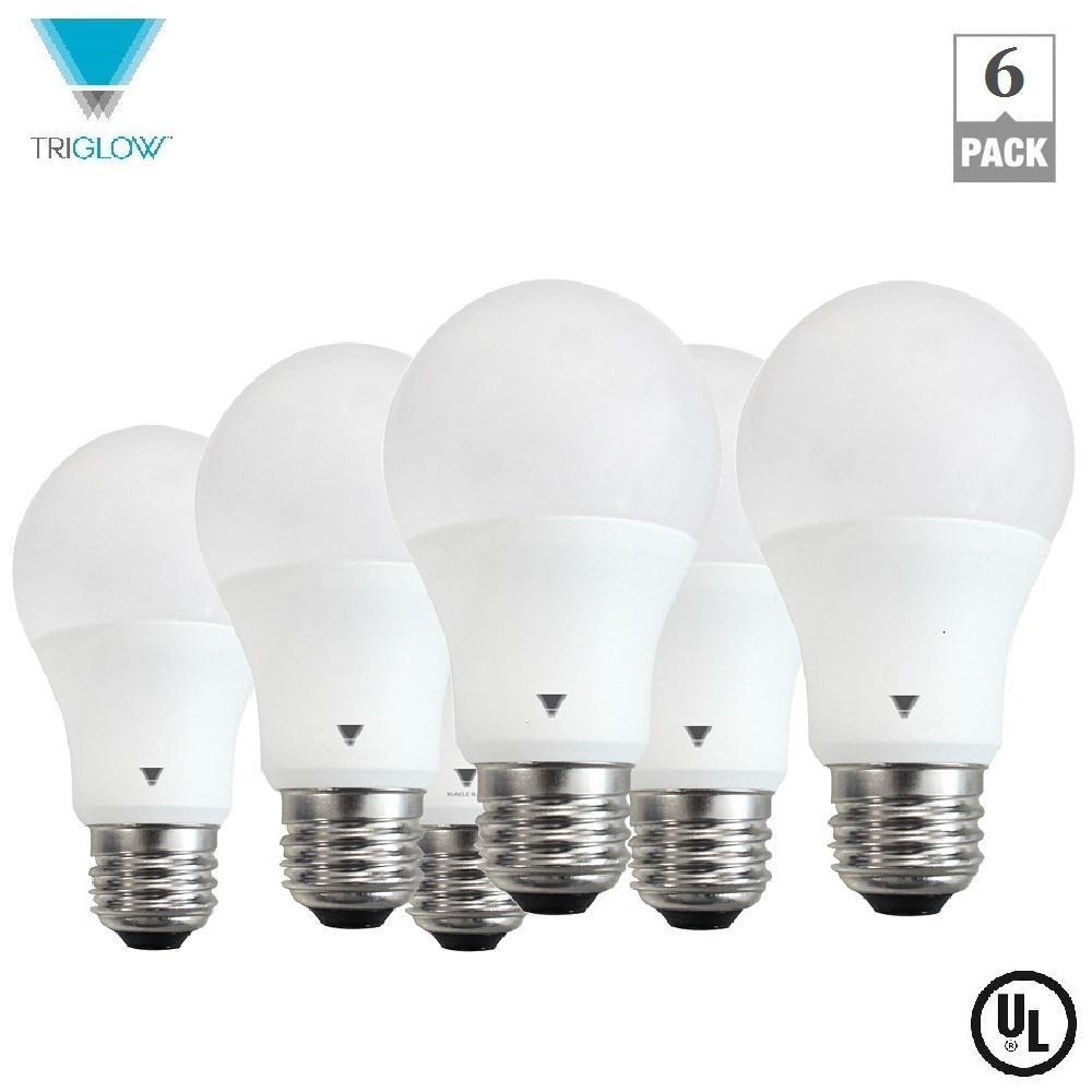 60-Watt Equivalent A19 Ultra Daylight LED Light Bulb (12-Pack)
