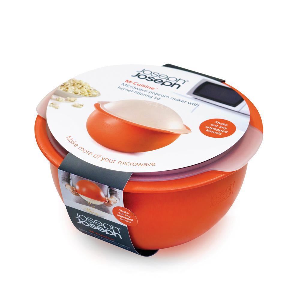 M-Cuisine Microwave Popcorn Popper Bowl