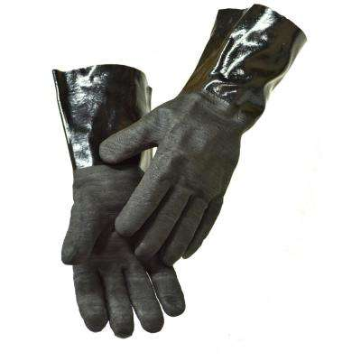 14 in. Insulated Waterproof/Oil and Heat Resistant BBQ, Smoker, Grill and Cooking Gloves (1-Pair)
