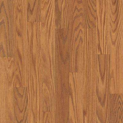 Take Home Sample - Willow Creek Collection Harvest Oak Laminate Flooring - 5 in. x 7 in.